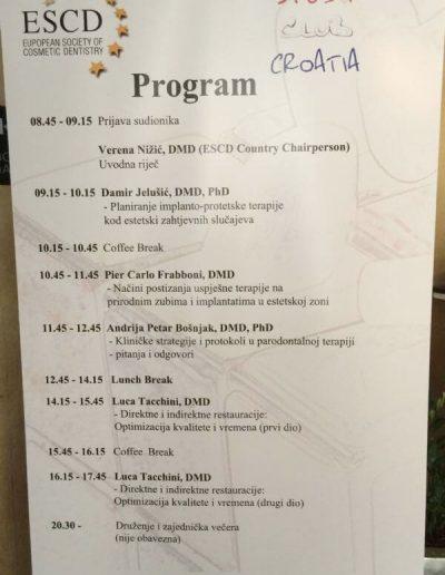 ESCD Study Club Croatia - 5 - Viadent, Fiume, Croazia